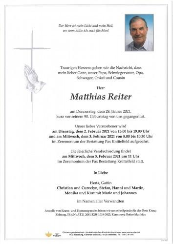 Matthias Reiter