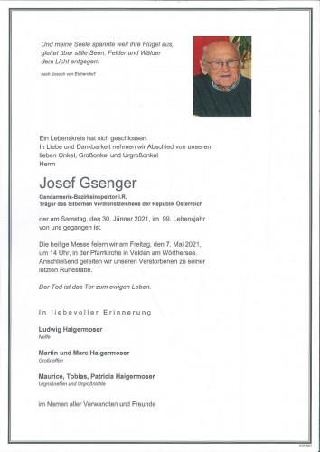 Josef Gsenger