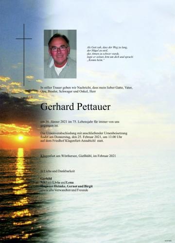 Gerhard Pettauer