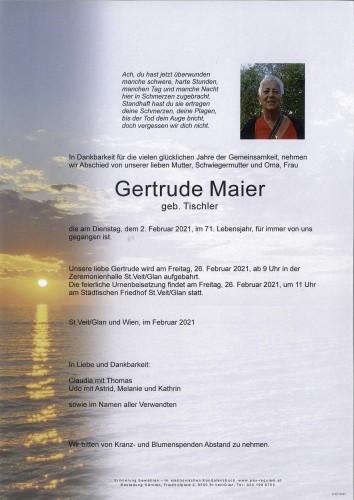 Gertrude Maier