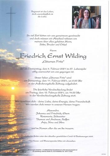 Friedrich Ernst Wilding