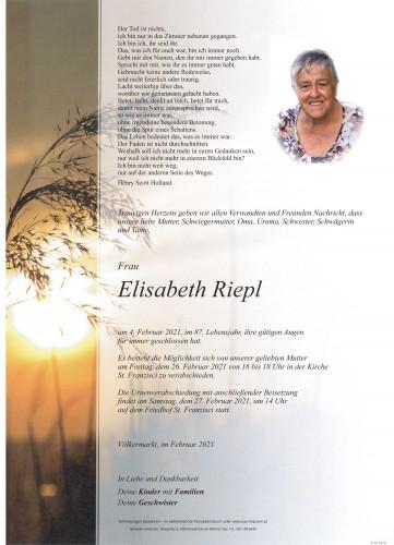 Elisabeth Riepl
