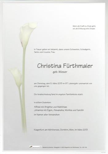 FÜRTHMAIER Christine