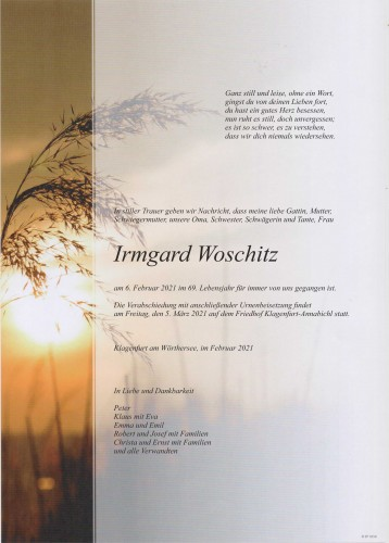 Irmgard Woschitz