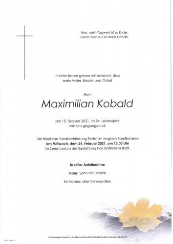 Maximilian Kobald