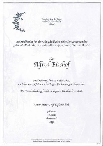 Alfred Bischof
