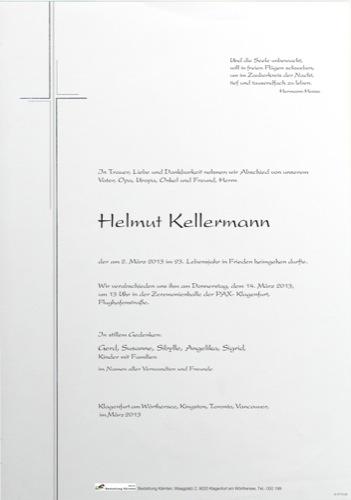 KELLERMANN Helmut