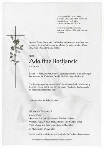 Adolfine Bostjancic