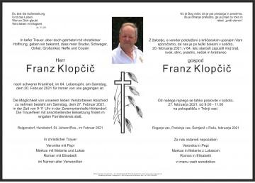 Franz Klopčič