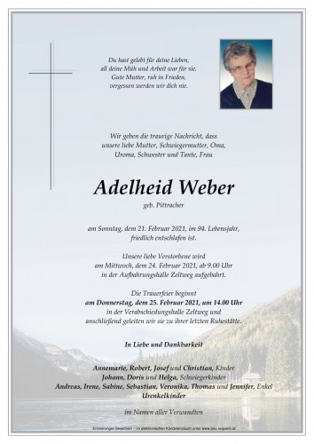 Adelheid Weber