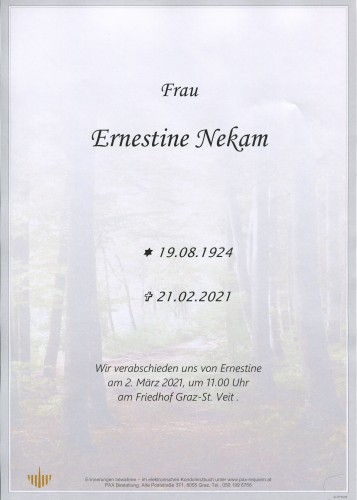 Ernestine Nekam