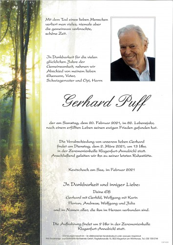 Gerhard Puff