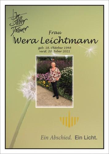 Wera Leichtmann