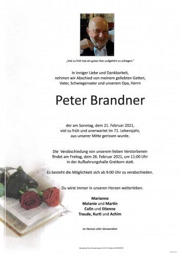 Peter Brandner