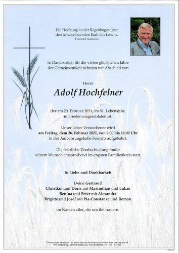 Adolf Hochfelner