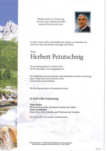 Herbert Petutschnig