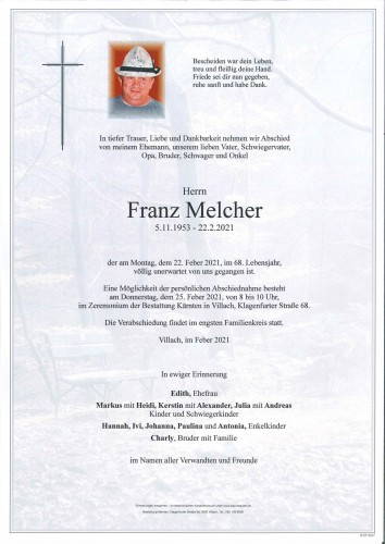 Franz Melcher