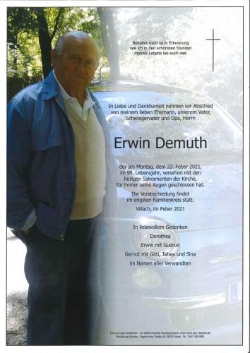 Erwin Demuth