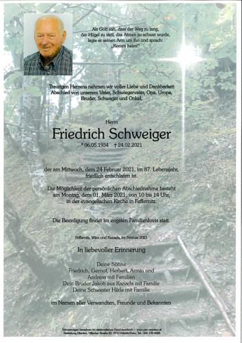 Friedrich Schweiger