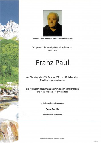 Franz Paul