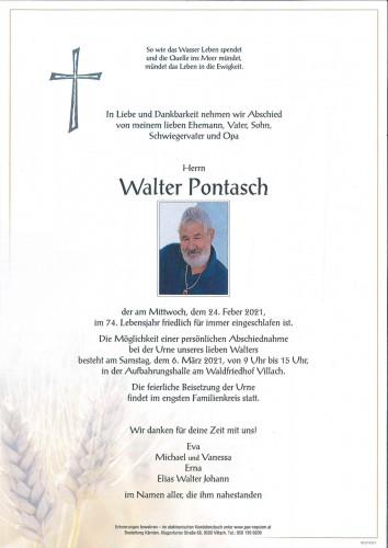 Walter Pontasch