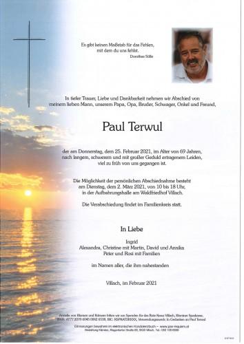 Paul Terwul