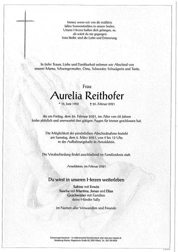 Aurelia Reithofer