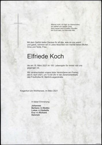 Elfriede Koch