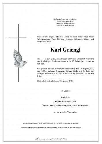 Karl Griengl