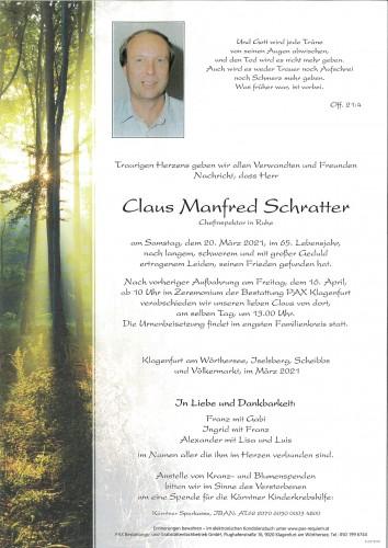 Claus Schratter