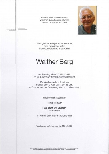 Walther Berg
