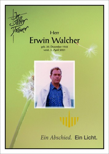 Erwin Walcher