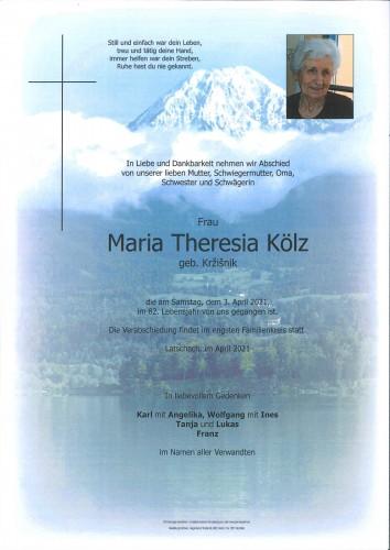 Maria Theresia Kölz