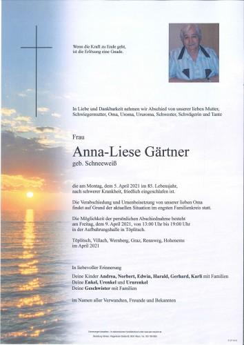 Anna-Liese Gärtner