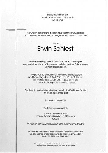 Erwin Schiestl