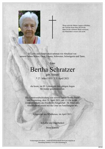 Bertha Schratzer
