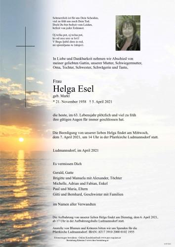 Helga Esel