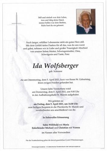 Ida Wolfsberger