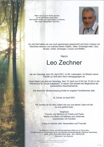 Leo Zechner