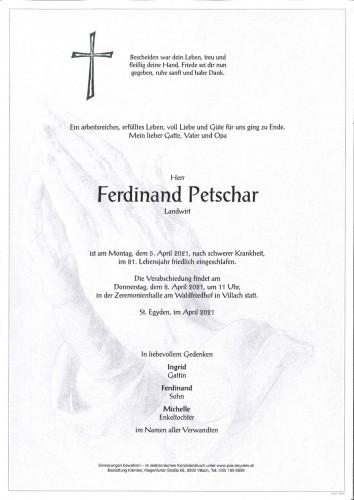 Ferdinand Petschar