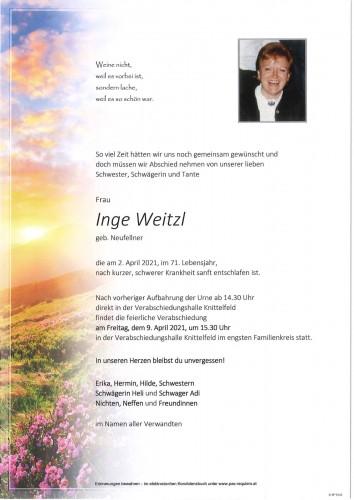 Inge Weitzl
