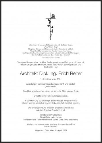 Architekt Dipl. Ing. Erich Reiter