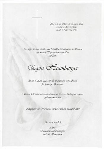 Egon Haimburger