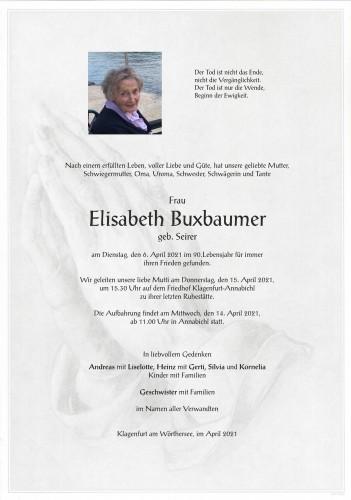 Elisabeth Buxbaumer
