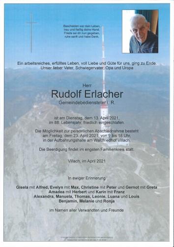 Rudolf Erlacher