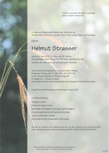 Helmut Strasser