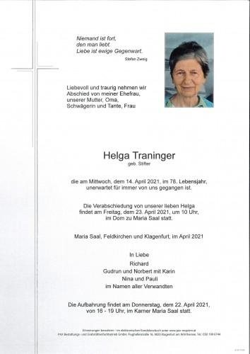 Helga Traninger
