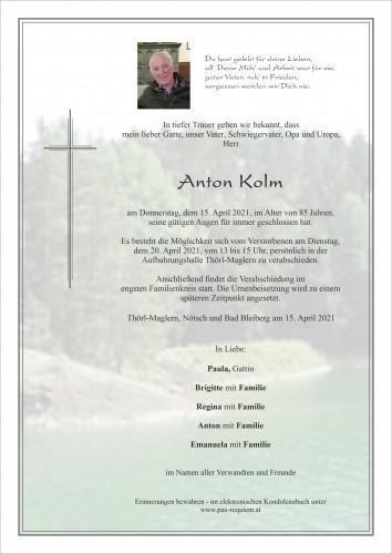 Anton Kolm sen.