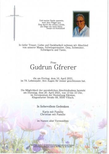 Gudrun Gfrerer
