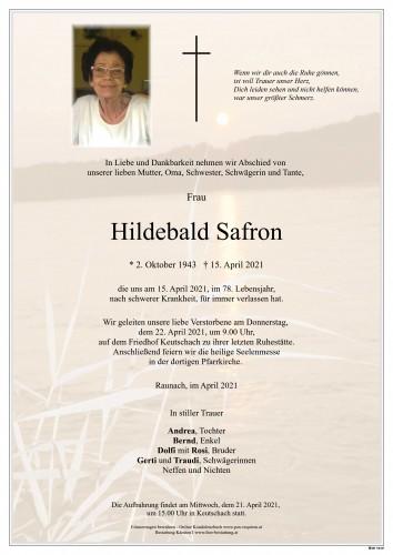 Hildebald Safron